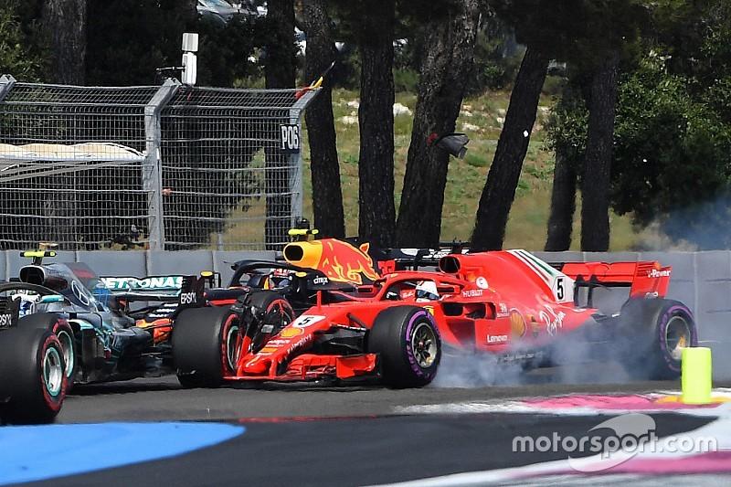 Vettel reconhece erro em acidente com Bottas na largada
