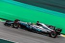 Mercedes valora un concepto de alta inclinación para su F1 2018
