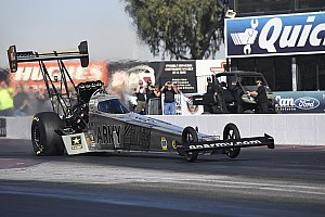 NHRA Breaking news Schumacher unconcerned by new crew chief's lack of Top Fuel experience