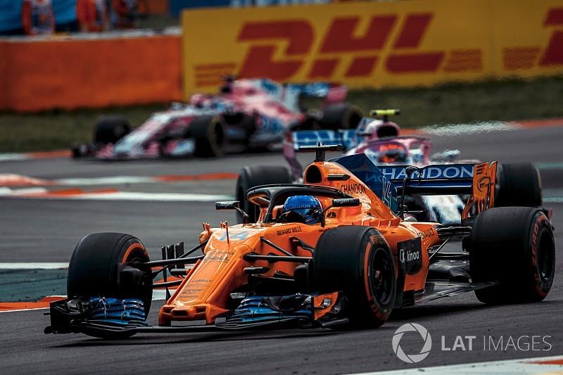 Alonso: McLaren, Renault ve Haas'ı yakaladı