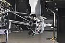 A Saubert másolja a Mercedes az első felfüggesztésnél