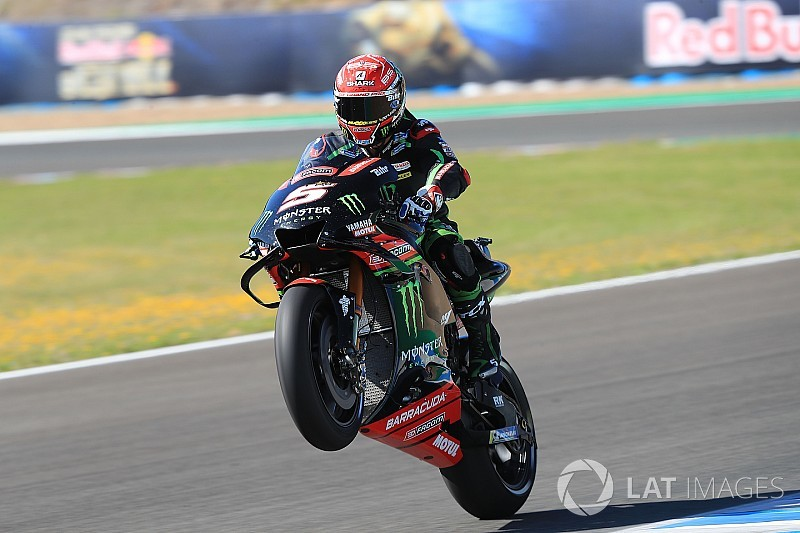 Tes MotoGP Jerez: Zarco tercepat, Rossi posisi ke-10