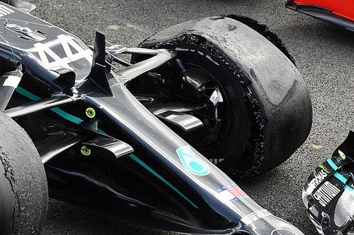 F1: Pirelli mantém pneus de GP de 70 anos e explica furos na Inglaterra