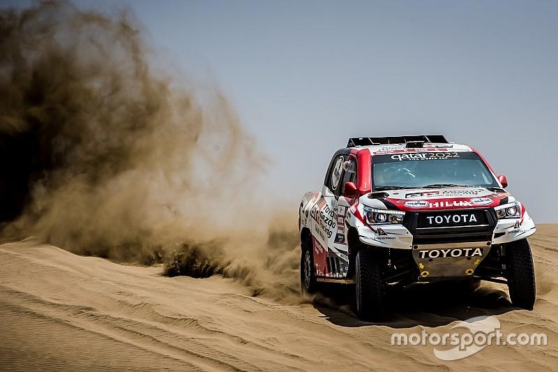Toyota se coloca na obrigação de vencer Dakar em 2019