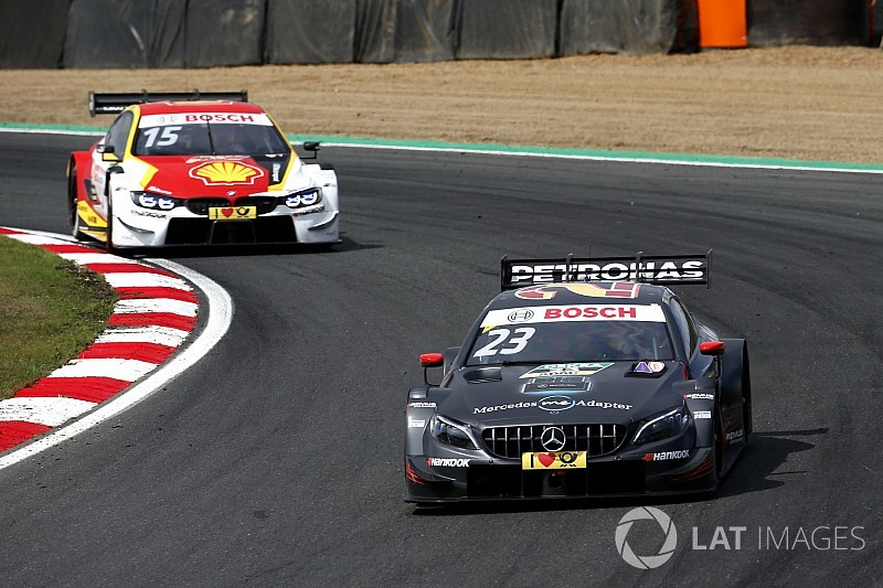 Brands Hatch DTM: Juncadella takes dominant maiden win