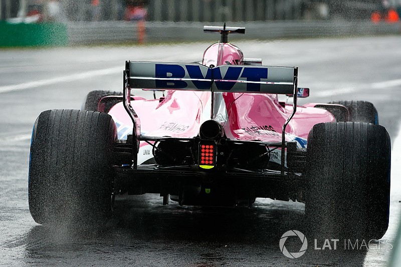 İtalya GP 1. antrenman: Islak seansta lider Perez