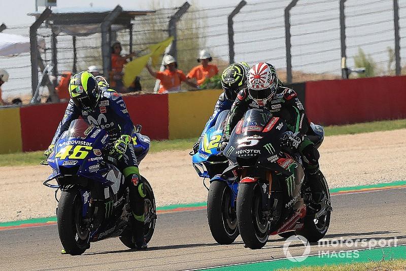 MotoGP Aragon FT3: Kein Yamaha-Fahrer direkt für Q2 qualifiziert