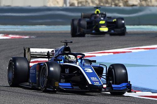 Zhou logra la primera pole de FIA F2, pero bajo investigación