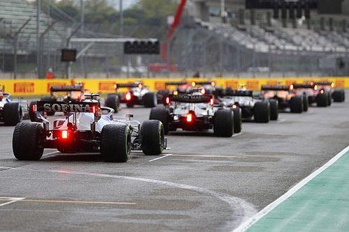Положение в общем зачете Формулы 1 после Гран При Эмилии-Романьи