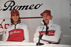Giovinazzi willing to follow Raikkonen's driving style