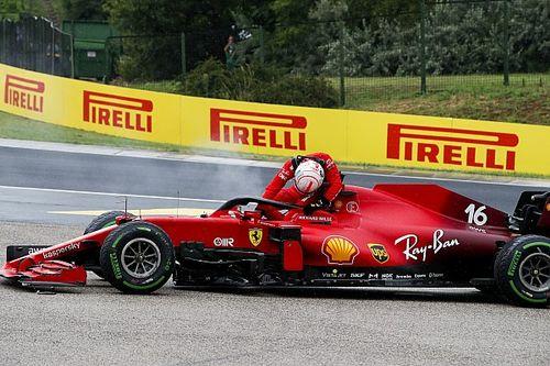 Súlyos következménnyel járt Leclerc számára a hungaroringi rajtbaleset