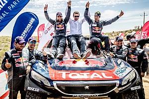 Cross-Country Rally Yarış ayak raporu İpek Yolu Rallisi'nde Peugeot ve Despres zafere uzandı