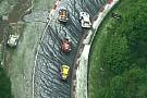 24 години Нюрбургрингу: гонка зупинена через сильний град