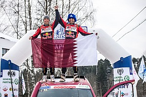 Cross-Country Noticias Al Attiyah reina en la nevada Baja Rusia