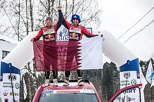 Cross-Country Rally Noticias de última hora Al Attiyah reina en la nevada Baja Rusia