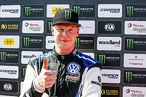 Kristoffersson domineert WK Rallycross in Noorwegen