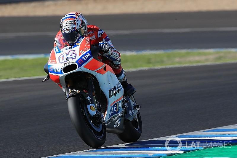 Dovizioso pecahkan rekor pada hari kedua tes Jerez