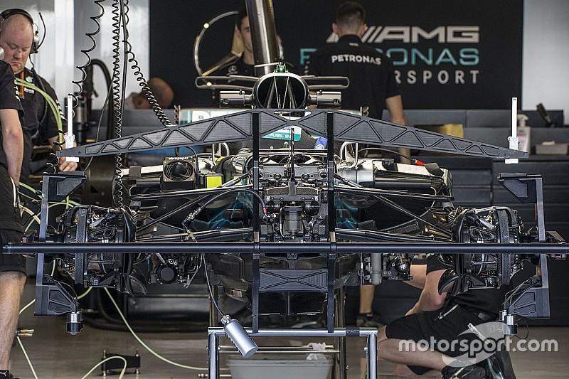 Les évolutions techniques des F1 à Abu Dhabi