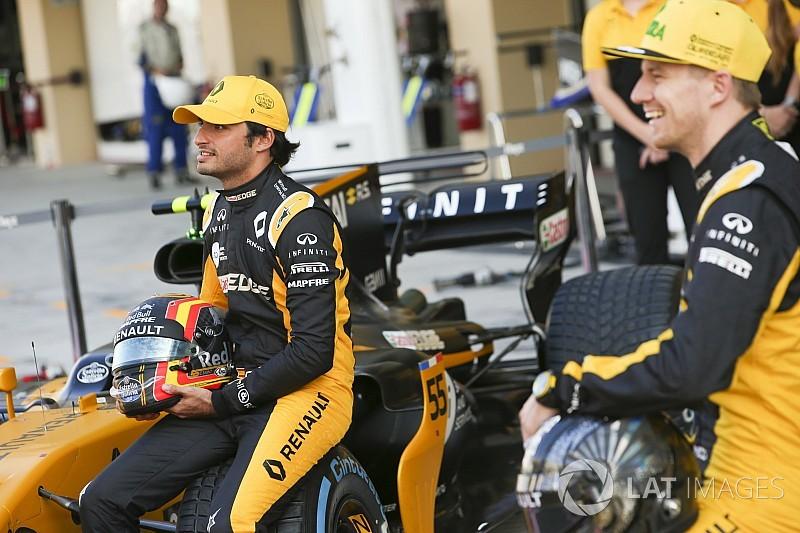 """Hulkenberg e Sainz fizeram """"grande diferença"""" para a Renault"""