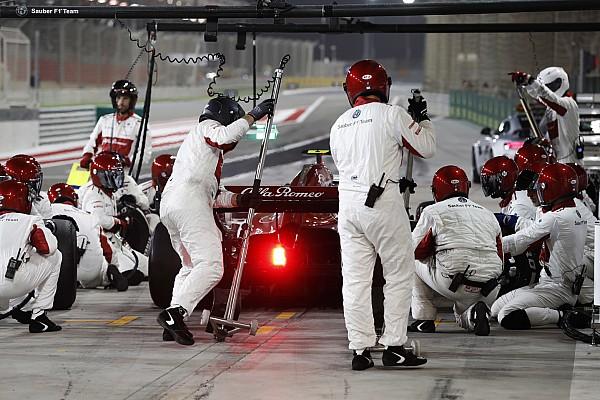 Fotostrecke: Der Alfa Romeo Sauber im Großen Preis von Bahrain