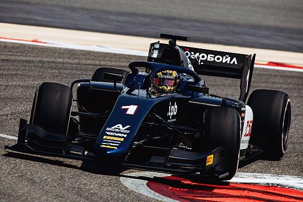 FIA F2 Relato da corrida Markelov vence corrida 2 da F2 no Bahrein; Sette Camara é 3º