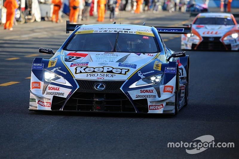 予選でライバル2台の先行許した37号車。平川亮「日産勢の動きが恐い」