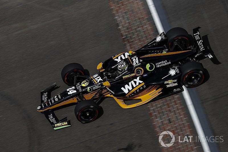 Indy 500: Karam leads extensive race-trim practice
