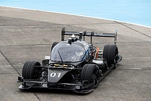 Roborace tests top speed of autonomous race car