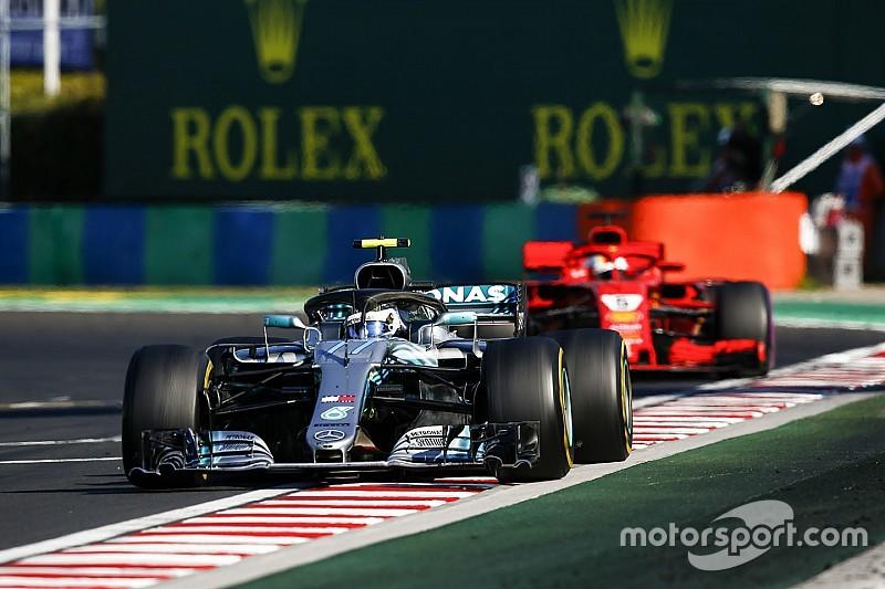 Vettel duvida que Bottas impediu chance de vencer na Hungria