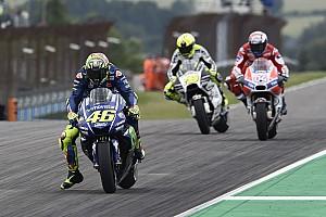 MotoGP Son dakika Sachsenring'te beşinci olmak Rossi'yi rahatlatmış