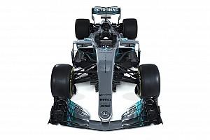 GALERÍA: Mira el nuevo W08 de Mercedes