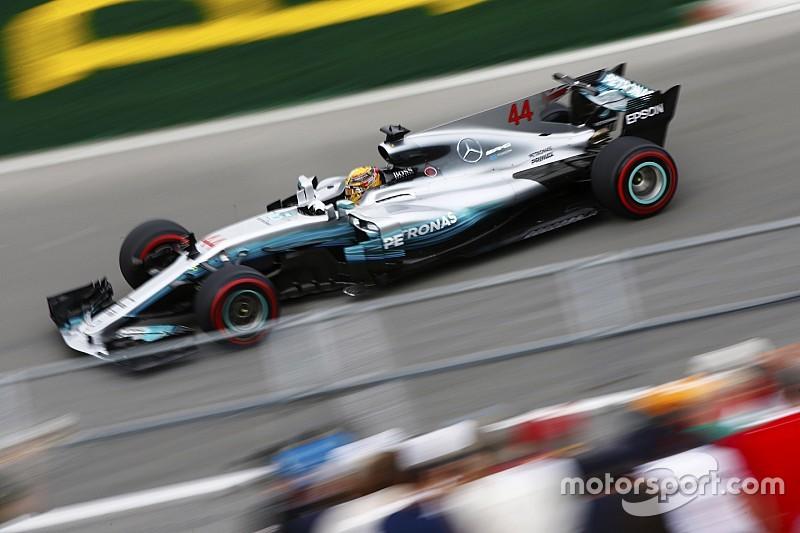 Хэмилтон установил лучшее время в первой сессии Гран При Канады