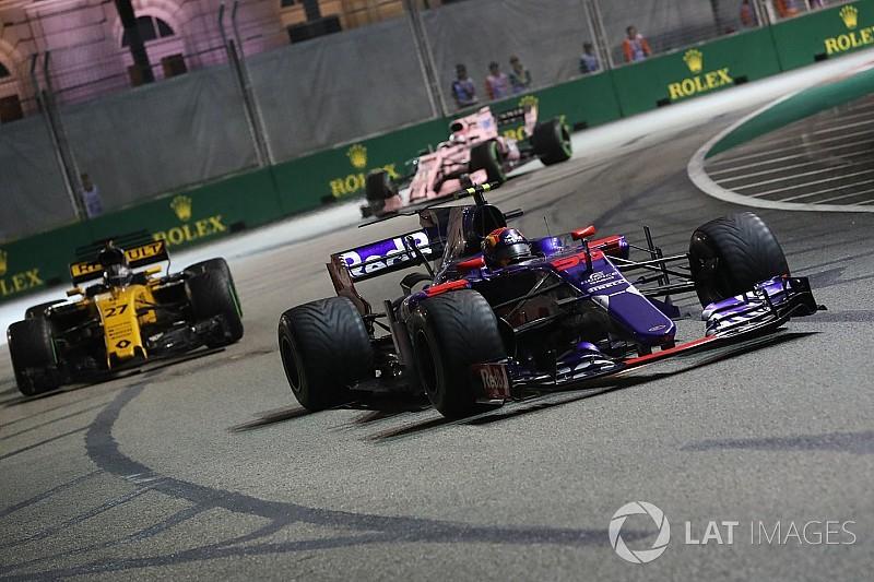 Sainz confía en la evolución de Renault