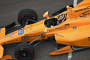 IndyCar Breaking news Alonso's first Indy 500 test grabbed 2m views