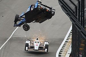 IndyCar En iyiler listesi Galeri: Scott Dixon'ın korkunç kazası