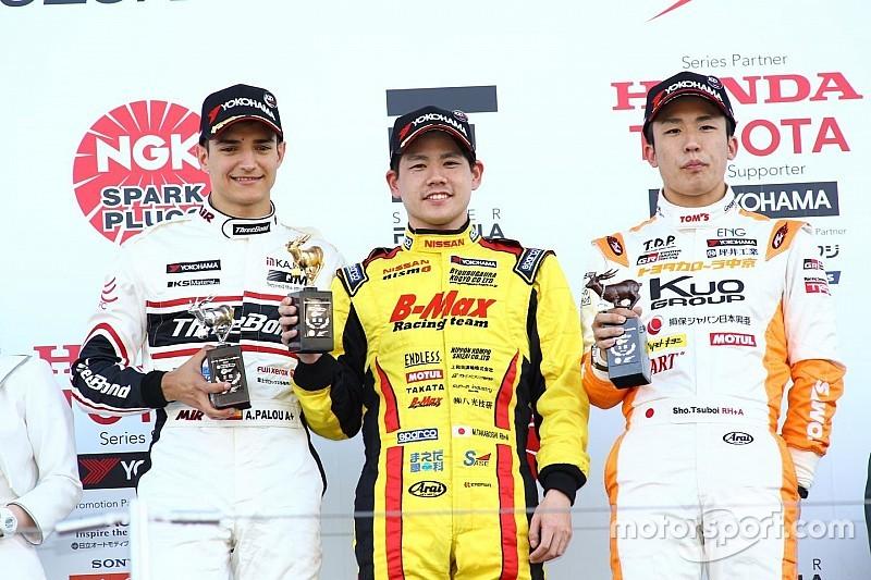 【全日本F3】第4戦鈴鹿:高星明誠がPPから優勝。今季早くも3勝目