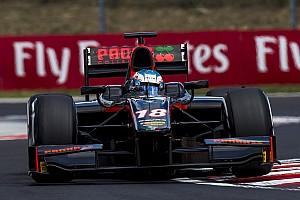 FIA F2 Nieuws F2 Hungaroring: Rowland wint spektakelstuk, De Vries pakt podium