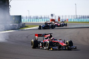 FIA F2 Gara Matsushita precede Rowland e conquista il successo in Gara 2 a Budapest