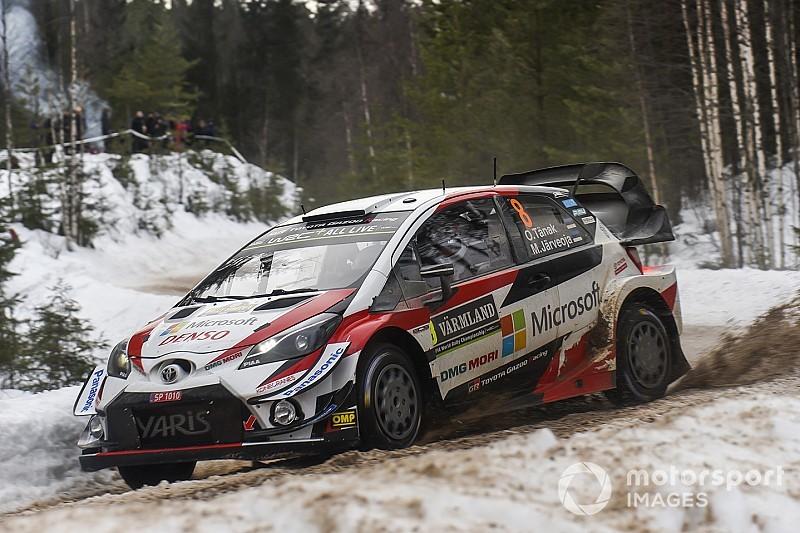 Sweden WRC: Tanak stretches lead over runner-up battle