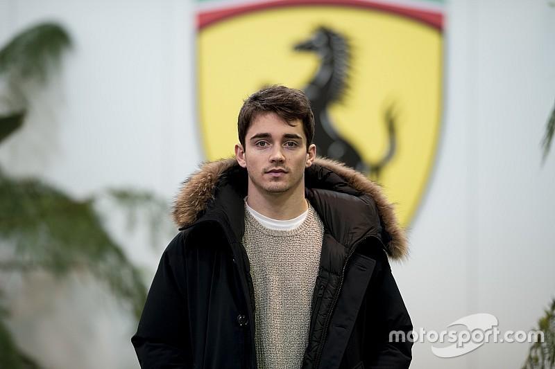 Leclerc nagy napja a Ferrarinál: először pattant a 2019-es F1-es gép volánja mögé