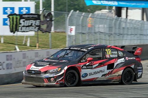 Jacques Villeneuve stumbles in ARX rallycross semi-final at GP3R