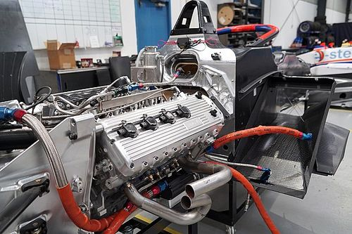 S5000 evaluating push-to-pass with updated V8 engine