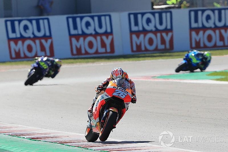 Педроса: Я не зміг їхати швидше через проблеми з мотоциклом