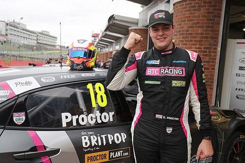 Brands Hatch BTCC: Proctor leads Honda 1-2-3-4 as Sutton heads title contenders