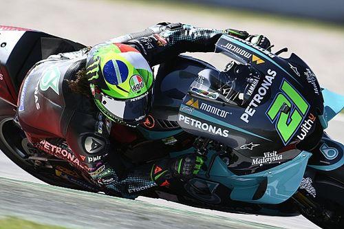 La grille de départ du Grand Prix MotoGP de Catalogne