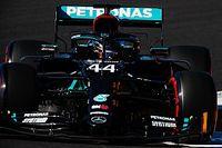 F1ボルトガルGP予選:ハミルトン、まさかの2回アタックで鮮やかPP。フェルスタッペンは3番手