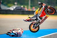 Rea Klaim Ban Michelin Jadi Penyebab Insiden di MotoGP