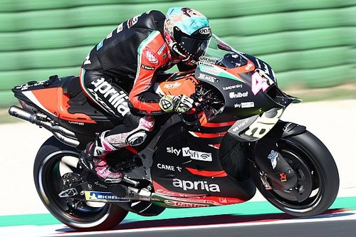 MotoGPミサノテスト2日目:アプリリアのエスパルガロがトップ。KTM新人のガードナー&フェルナンデスが参加