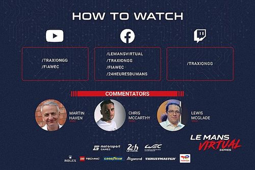 Watch the Le Mans Virtual Series Qualifying and Cup race live