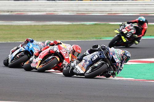 """La alegría de Bastianini por adelantar """"al jefe de MotoGP"""